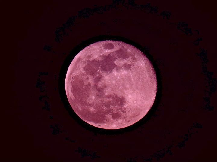 Prepárate para ver la superluna rosa de abril, un fenómeno astronómico digno de admirar