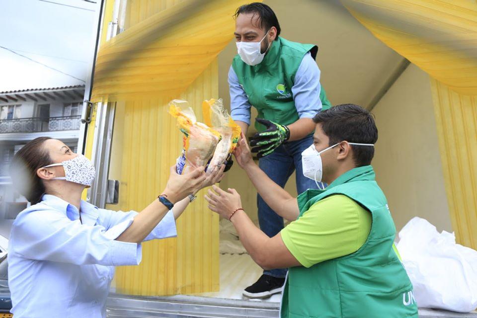 140 toneladas de pollo congelado llegarán a los 125 municipios del departamento, a través de Antioquia Solidaria