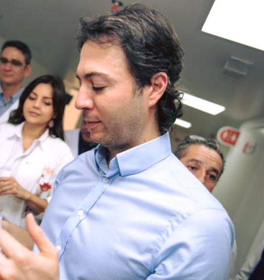 A trasplante sera sometida la hija del alcalde de Medellin