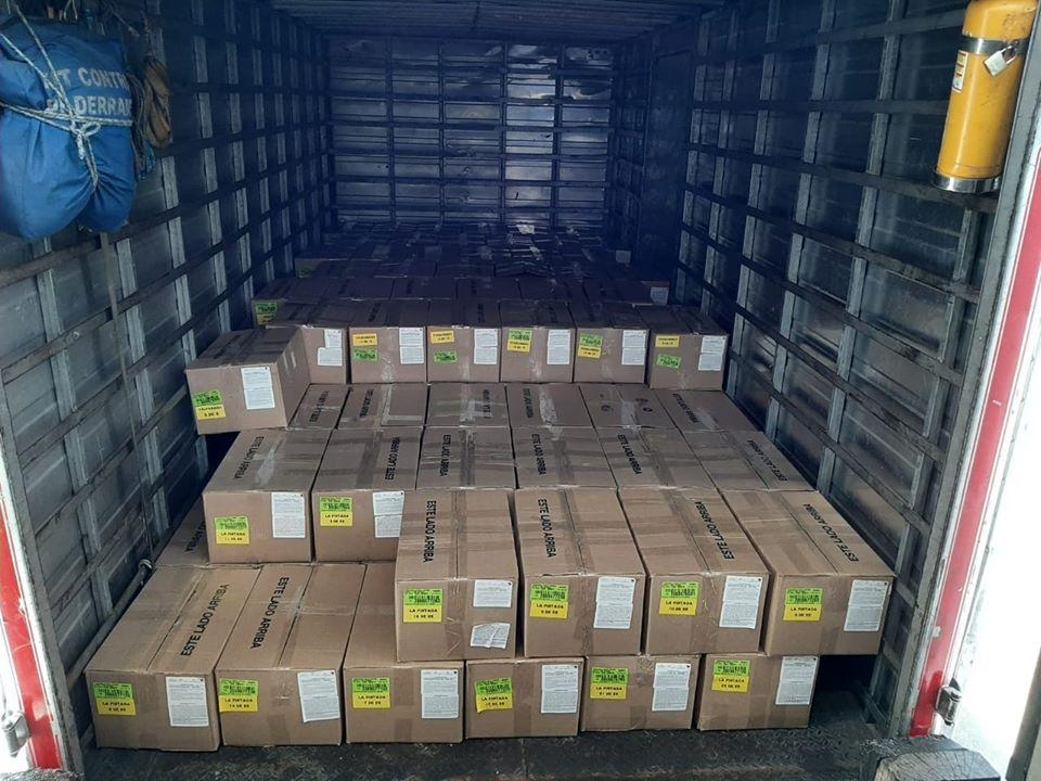 Donación masiva de tapabocas en el Suroeste antioqueño