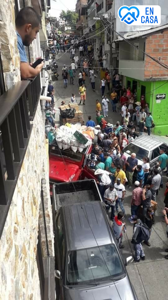 Vehículo se quedo sin frenos en Santa Barbara Antioquia
