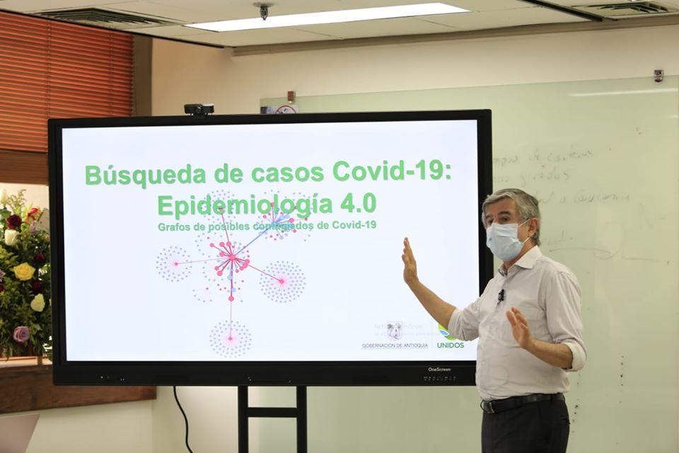 Moderna tecnología permite en Antioquia hacer más efectivo el trabajo de contención del Covid-19