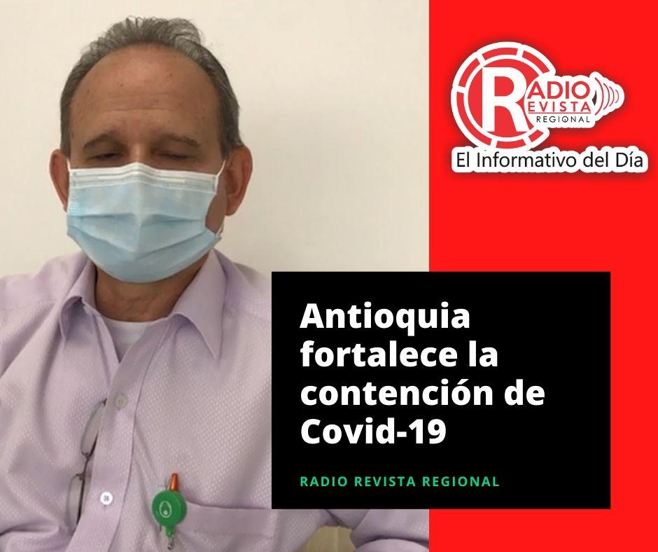 Con implementación de modelo alemán de atención domiciliaria, Antioquia fortalece la contención de Covid-19