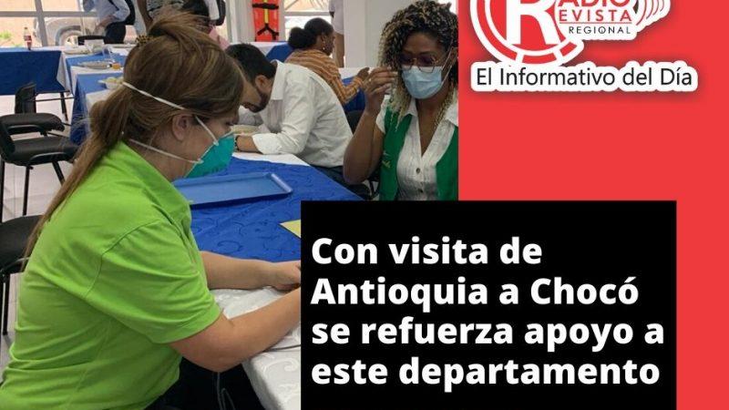 Con visita de secretaria de Salud de Antioquia a Chocó, se refuerza apoyo a este departamento