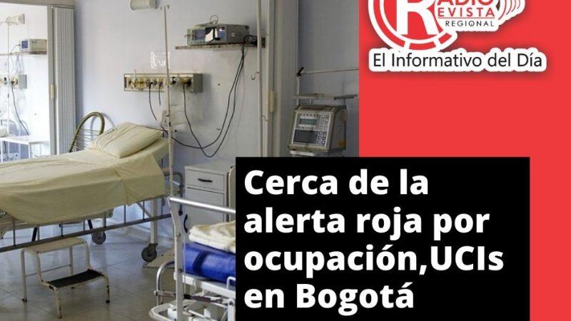 Cerca de la alerta roja por ocupación,UCIs en Bogotá
