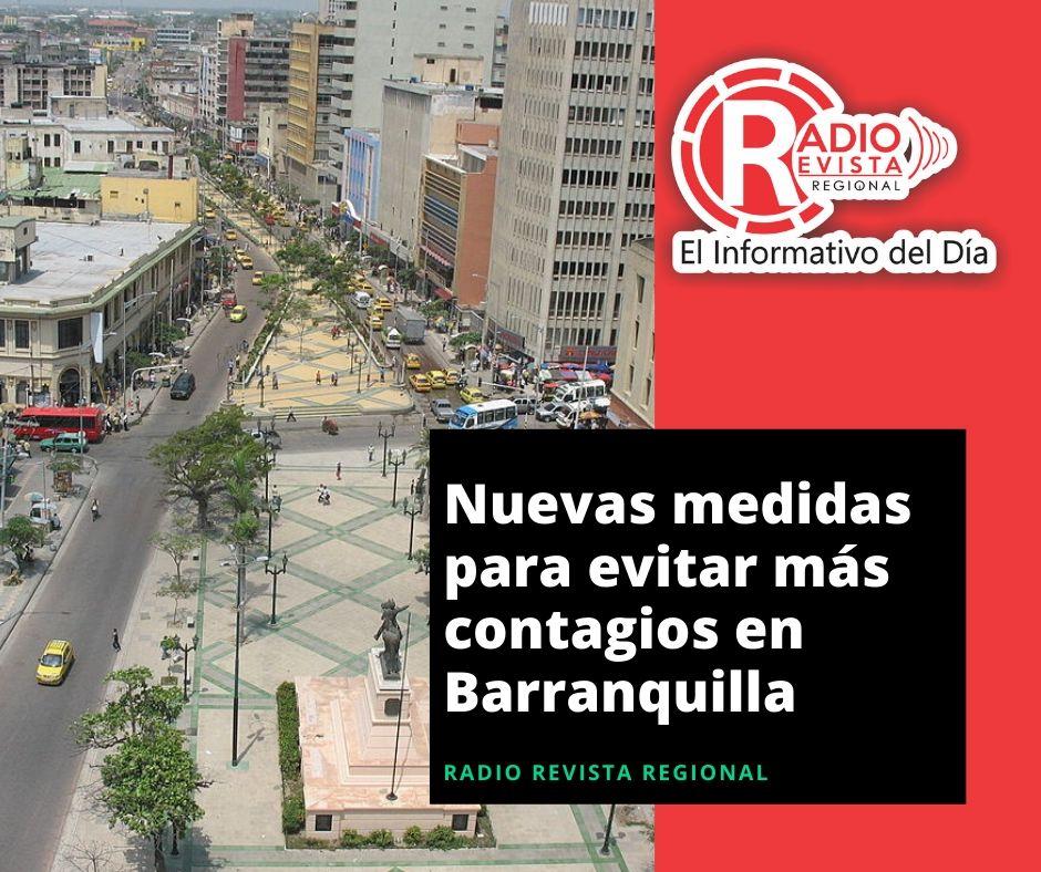 Nuevas medidas para evitar más contagios en Barranquilla