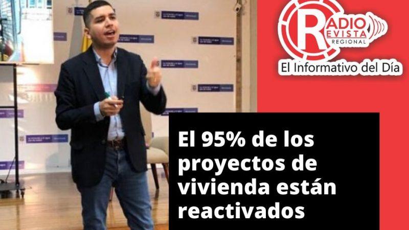 El 95% de los proyectos de vivienda están reactivados