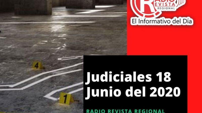 Judiciales 18 Junio del 2020