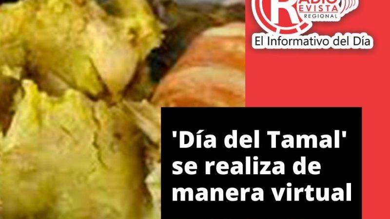 'Día del Tamal' se realiza de manera virtual