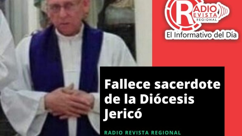 Falleció sacerdote de la Diócesis Jericó