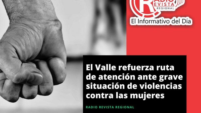 El Valle refuerza ruta de atención ante grave situación de violencias contra las mujeres