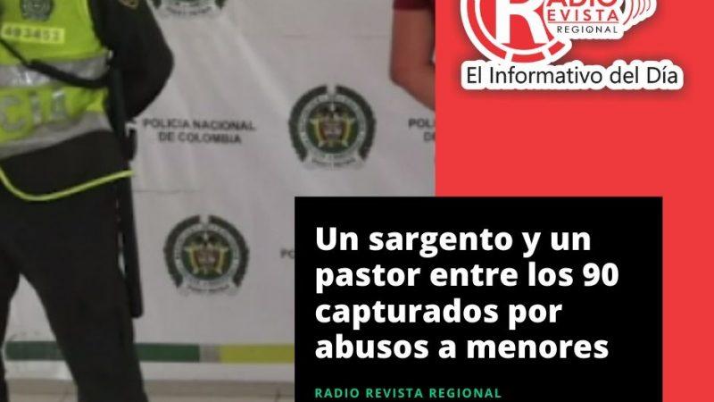 Un sargento y un pastor entre los 90 capturados por abusos a menores