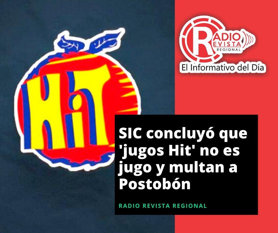 SIC concluyó que 'jugos Hit' no es jugo y multan a Postobón
