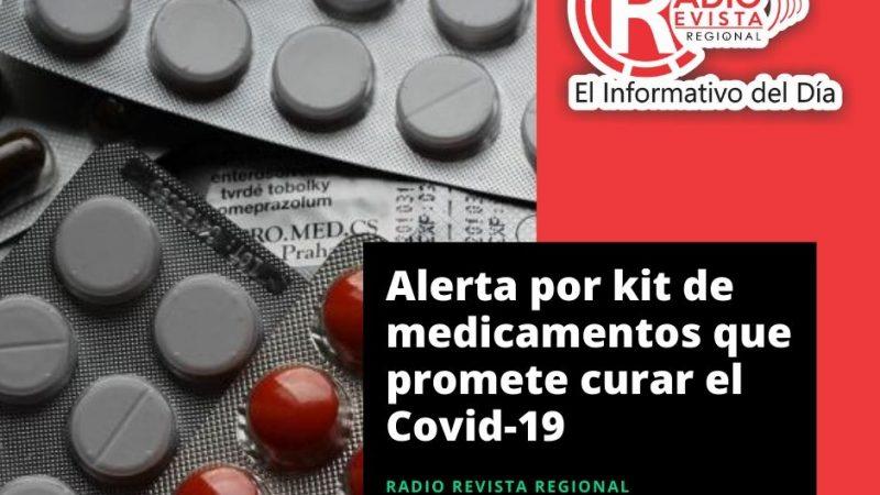 Alerta por kit de medicamentos que promete curar el Covid-19
