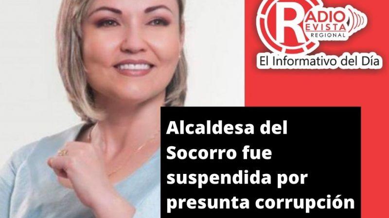 Alcaldesa del Socorro fue suspendida por presunta corrupción
