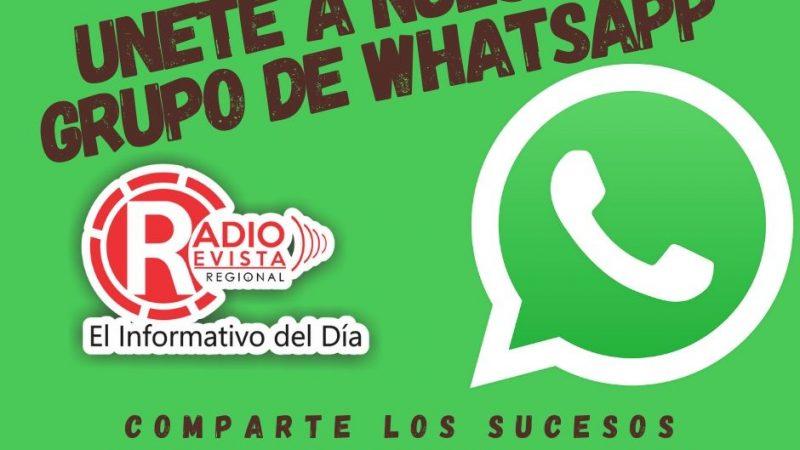 Únete a nuestro Grupo e Whatsapp