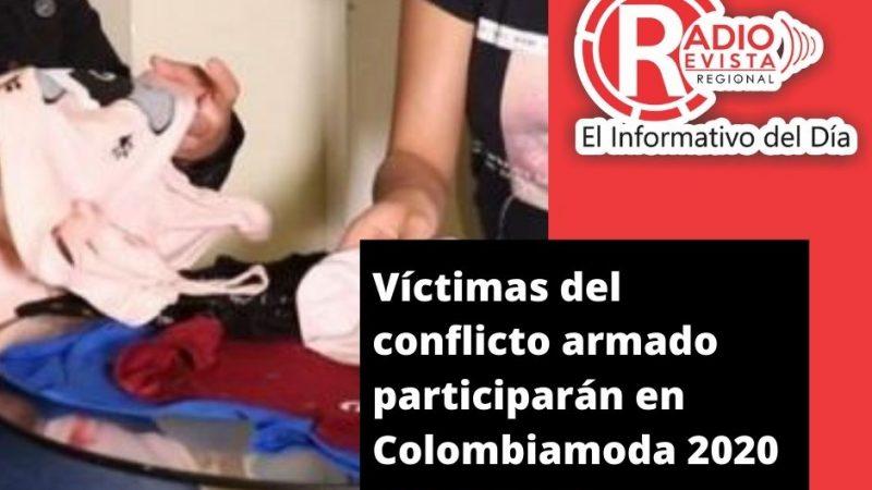 Víctimas del conflicto armado participarán en Colombiamoda 2020