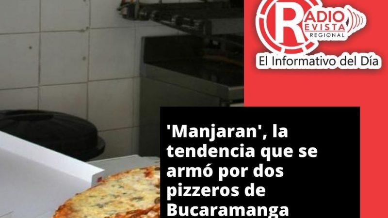 'Manjaran', la tendencia que se armó por dos pizzeros de Bucaramanga