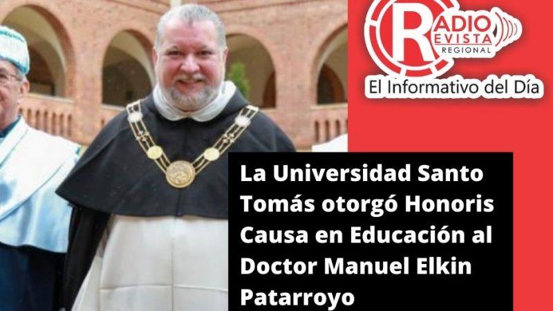 La Universidad Santo Tomás otorgó Honoris Causa en Educación al Doctor Manuel Elkin Patarroyo