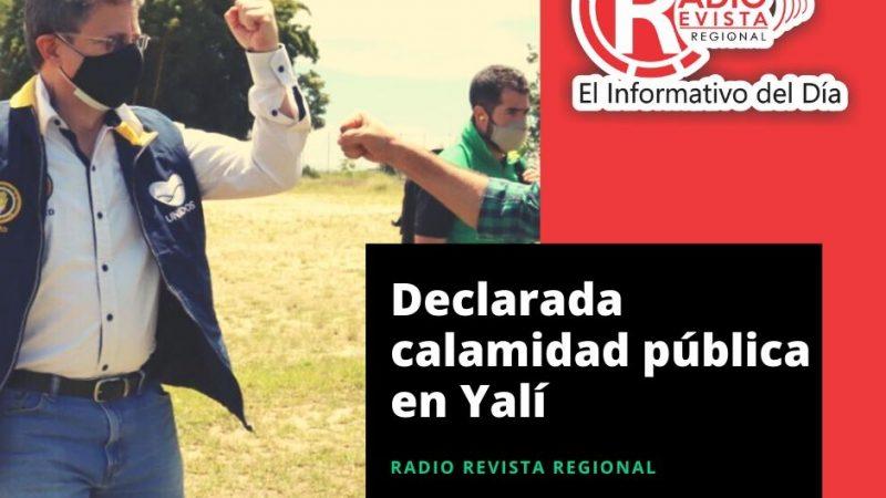 Declarada calamidad pública en Yalí