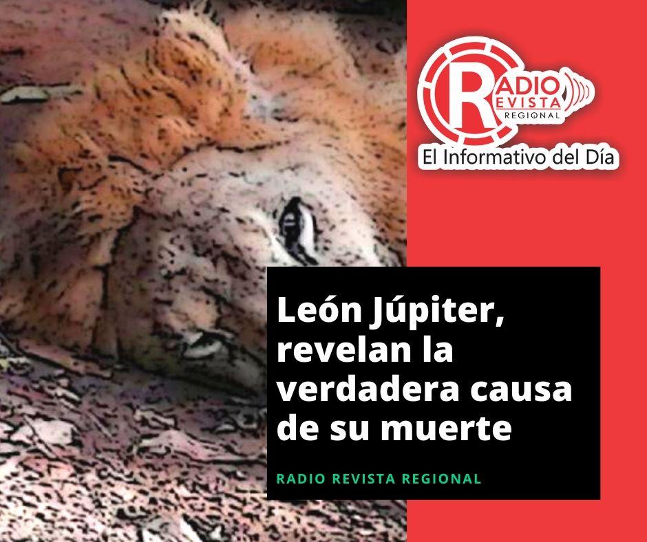 León Júpiter, revelan la verdadera causa de su muerte
