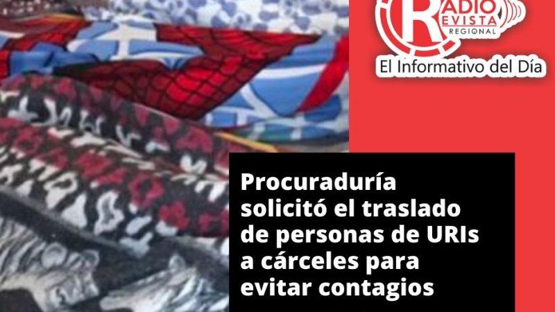 Procuraduría solicitó el traslado de personas de URIs a cárceles para evitar contagios