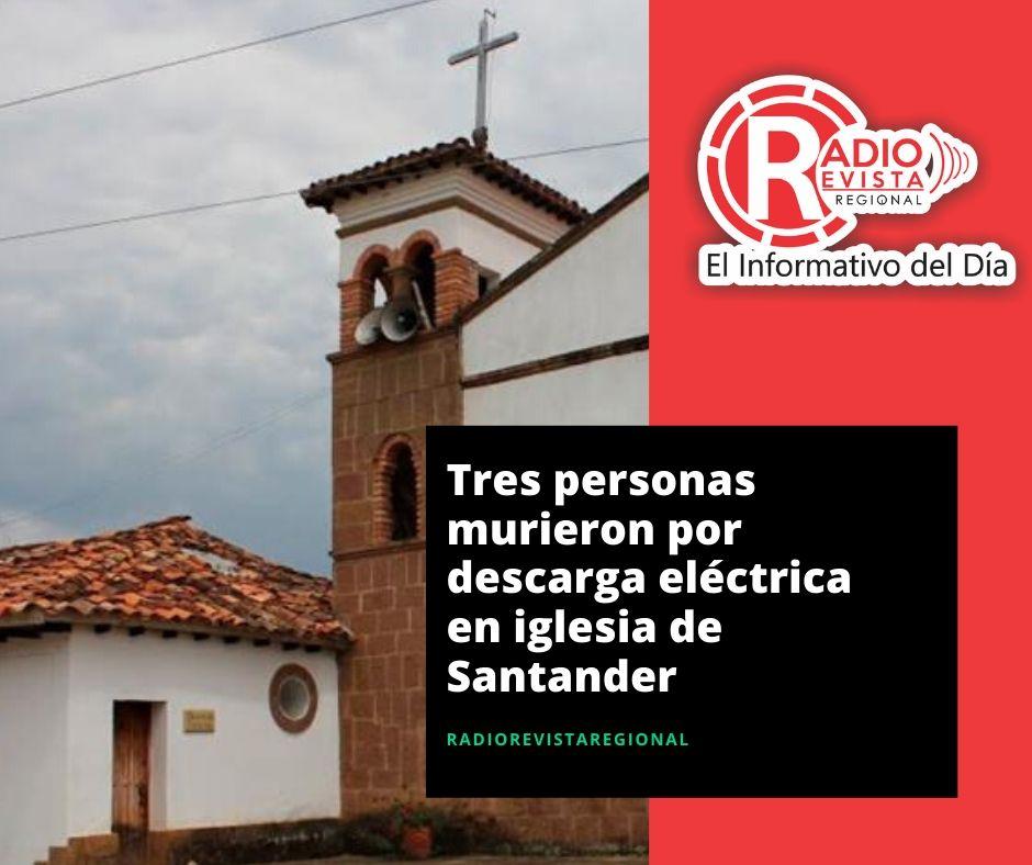 Tres personas murieron por descarga eléctrica en iglesia de Santander