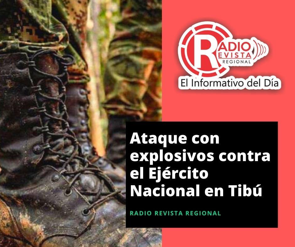 Ataque con explosivos contra el Ejército Nacional en Tibú