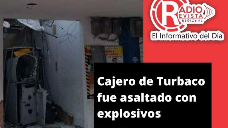 Cajero de Turbaco fue asaltado con explosivos