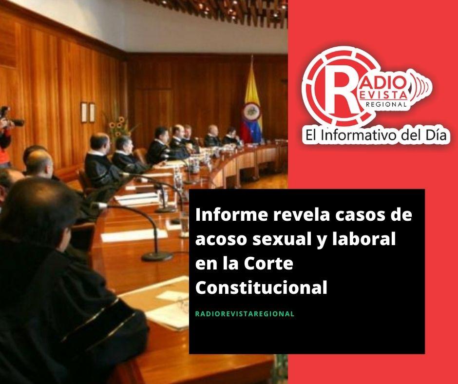 Informe revela casos de acoso sexual y laboral en la Corte Constitucional