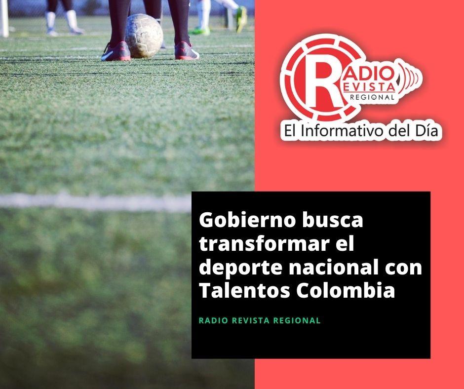 Gobierno busca transformar el deporte nacional con Talentos Colombia