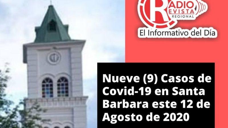 Santa Barbara Antioquia Presenta (9) Nuevos casos de Covid-19