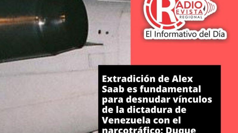 Extradición de Alex Saab es fundamental para desnudar vínculos de la dictadura de Venezuela con el narcotráfico: Duque