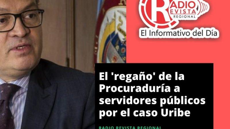 El 'regaño' de la Procuraduría a servidores públicos por el caso Uribe