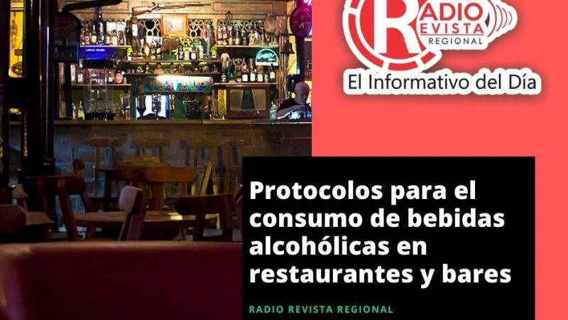 Protocolos para el consumo de bebidas alcohólicas en restaurantes y bares