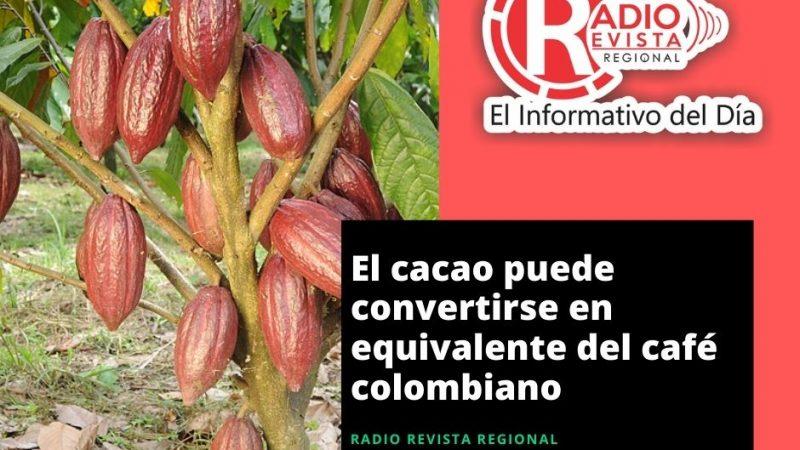 El cacao puede convertirse en equivalente del café colombiano