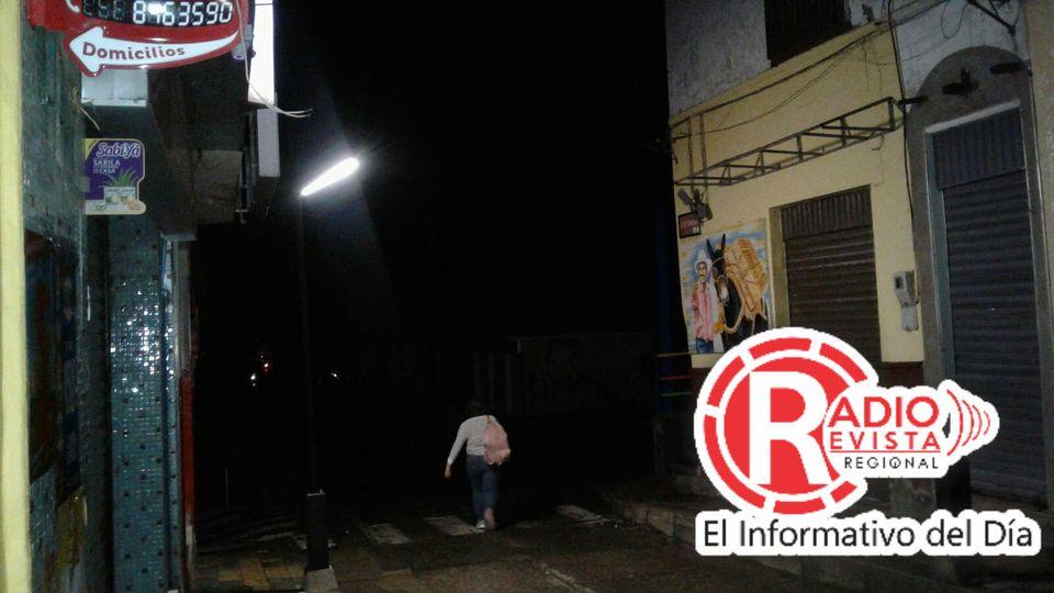 Fotos: Lluvias dejan a Gran parte del Municipio de Santa Bárbara sin energía