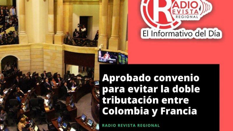 Aprobado convenio para evitar la doble tributación entre Colombia y Francia