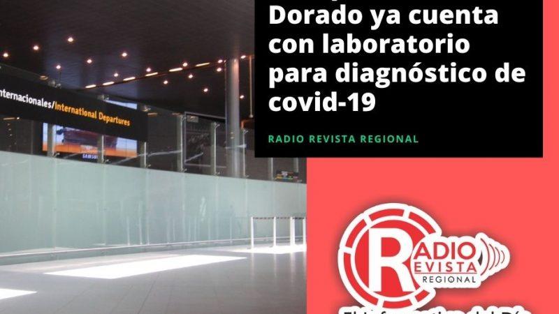 Aeropuerto El Dorado ya cuenta con laboratorio para diagnóstico de covid-19