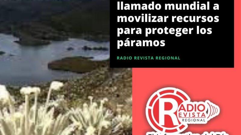Colombia lidera llamado mundial a movilizar recursos para proteger los páramos