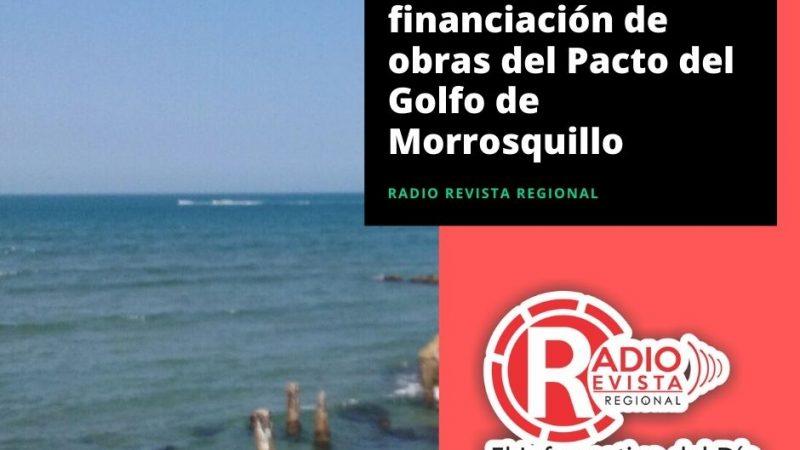 Arranca financiación de obras del Pacto del Golfo de Morrosquillo