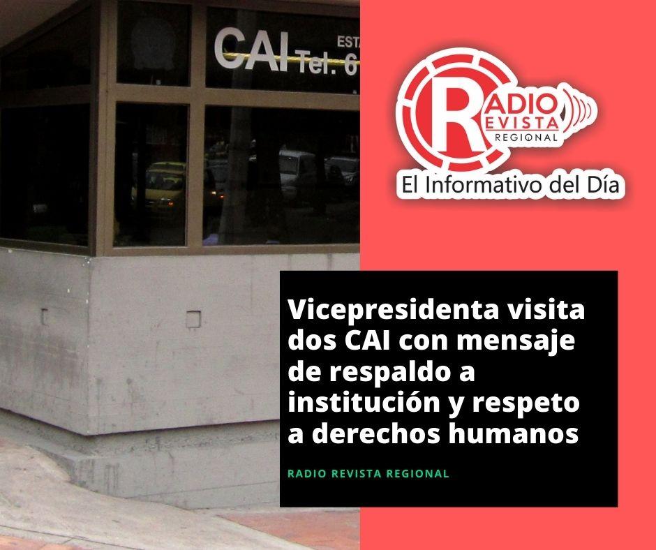 Vicepresidenta visita dos CAI
