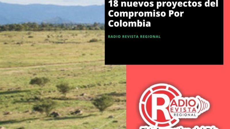 Gobierno Nacional lanzó 18 nuevos proyectos del Compromiso Por Colombia