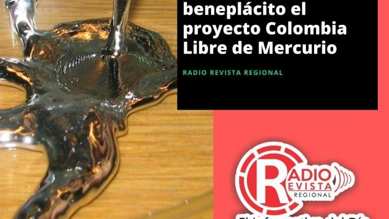 Antioquia recibe con beneplácito el proyecto Colombia Libre de Mercurio