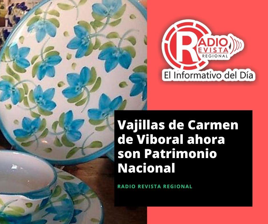 Vajillas de Carmen de Viboral ahora son Patrimonio Nacional