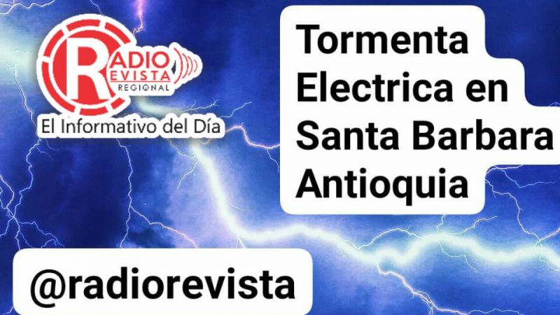 Tormenta Electrica en Santa Barbara