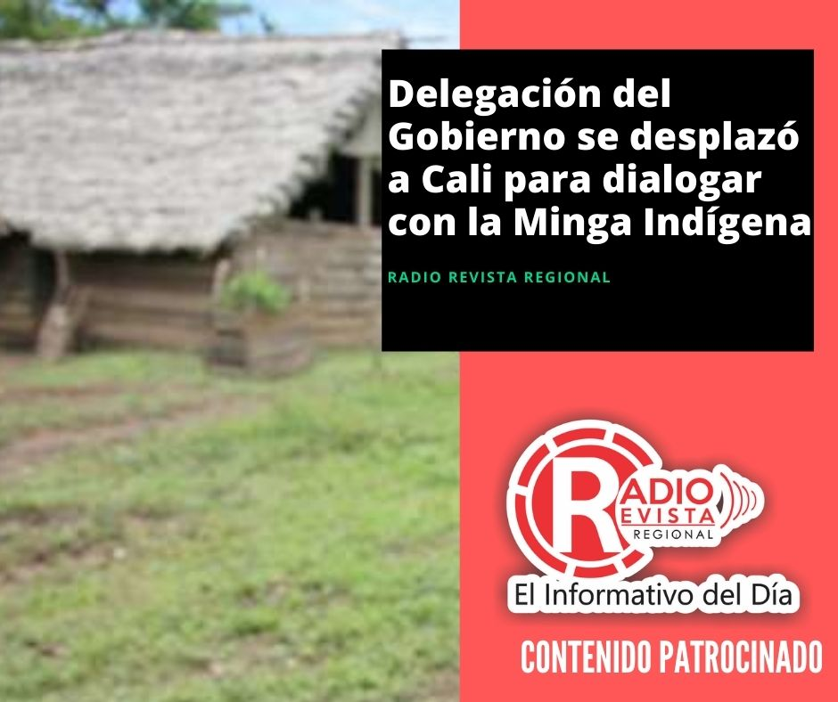 Delegación del Gobierno se desplazó a Cali para dialogar con la Minga Indígena