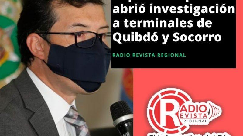 SuperTransporte abrió investigación a terminales de #Quibdó y #Socorro