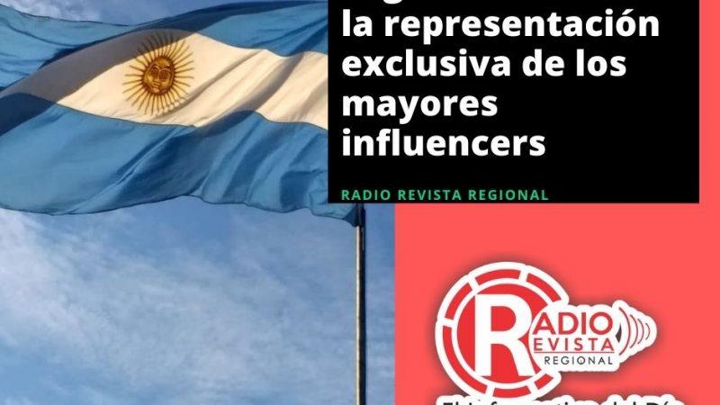 Argentina obtiene la representación exclusiva de los mayores influencers