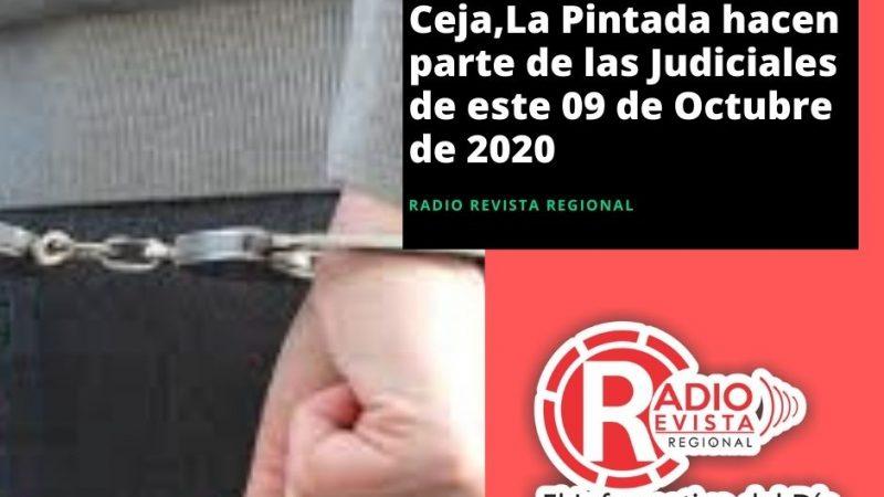 Campamento,La Ceja,La Pintada hacen parte de las Judiciales de este 09 de Octubre de 2020